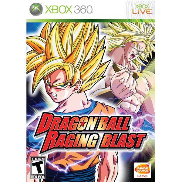 Dragon Ball Z Raging Bast Boxshot