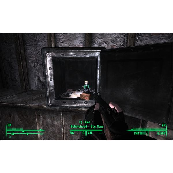 The Big Guns Bobblehead in Fort Constantine
