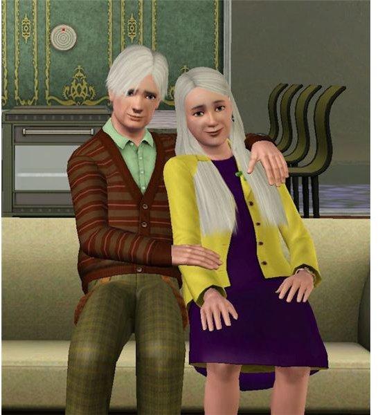 The Sims 3 elders