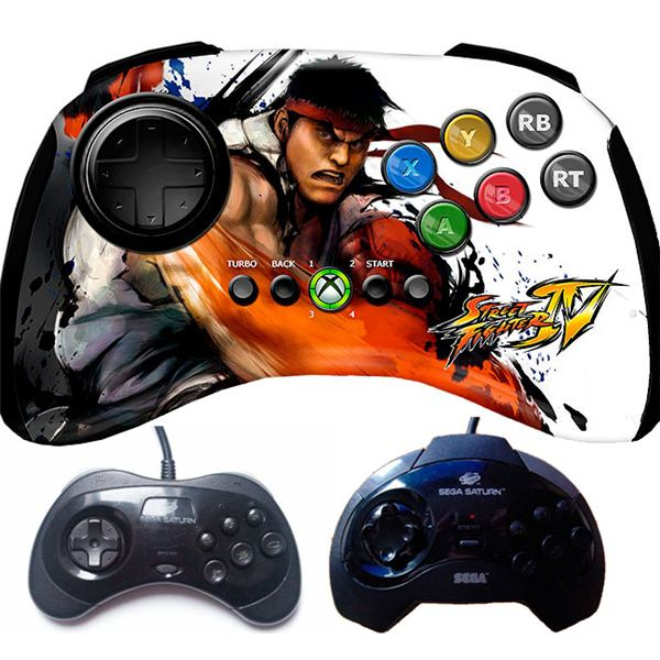 Review of the Madcatz Street Fighter IV Fightpad for the Xbox 360 Page 1: First Impressions