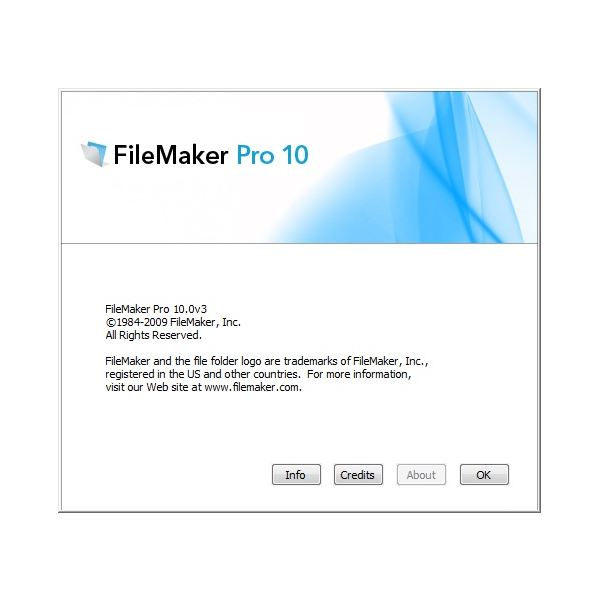 FileMaker Pro 10 for Windows