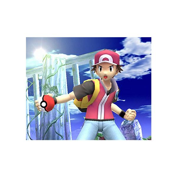 Pokemon Trainer from Smash Bros