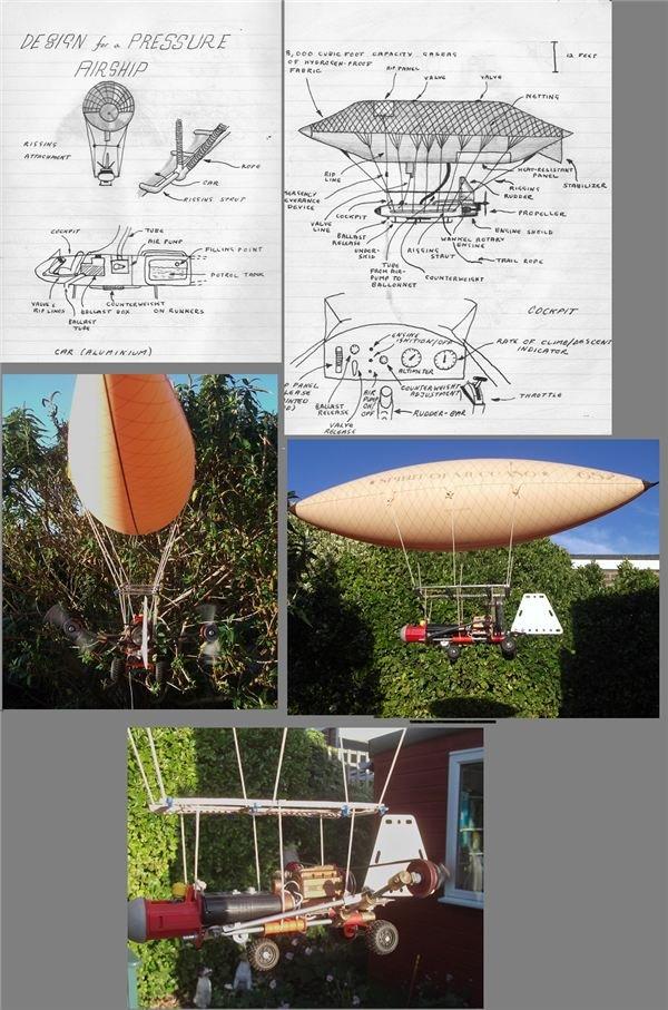 Pukkagen's Pressure Airship Concept