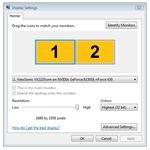 Virtual Monitor Settings