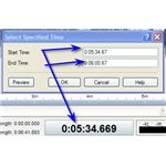 WavePad - Select Specific Time