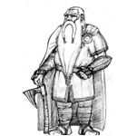 Dwarf drawing- wikipedia- released into public domain by artist- name not given