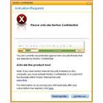 Activate your Norton Confidential software online