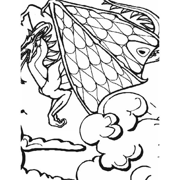 Sites for Dragon Printable Coloring Pages