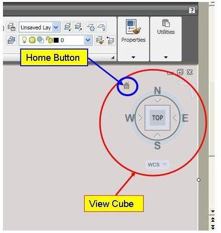 3D Extrude Viewcube