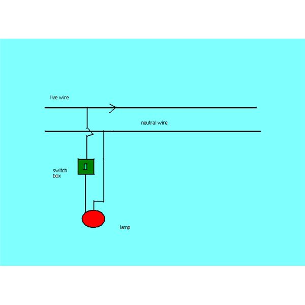 ac circuit diagram for lamps