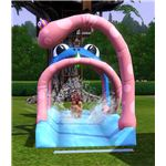 The Sims 3 water slide