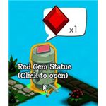 Use Gems to Open Statues