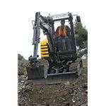 Compact Excavator, courtesy of Flickr, Volvo Construction Equipment (Volvo CE)'s photostream