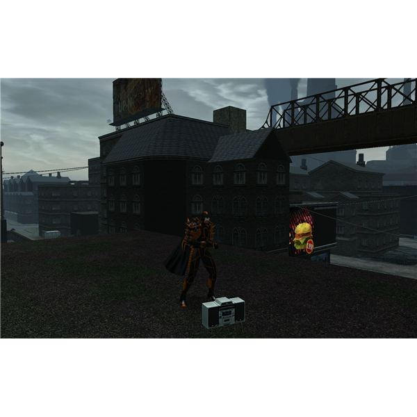 City of Heroes BoomBox Emote