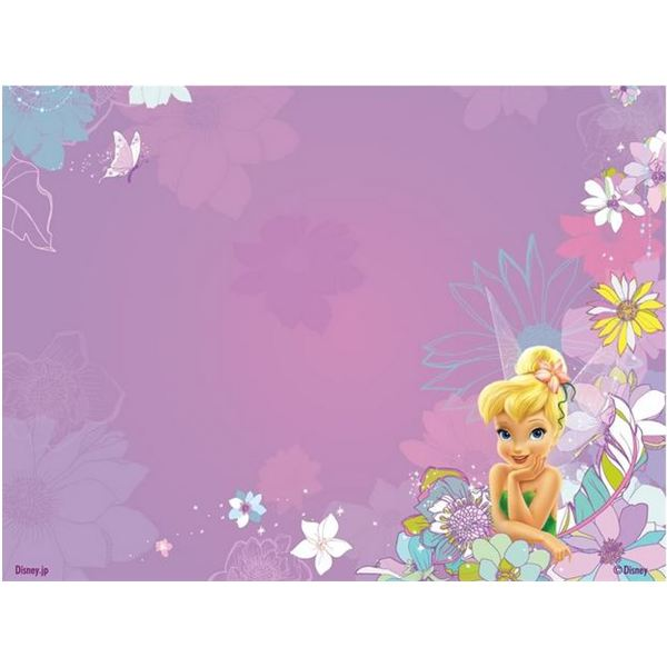 Free tinkerbell backgrounds for scrapbooks greeting cards tinkerbell sitting in flowers background filmwisefo
