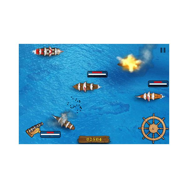 Pirates Sea Battle 2