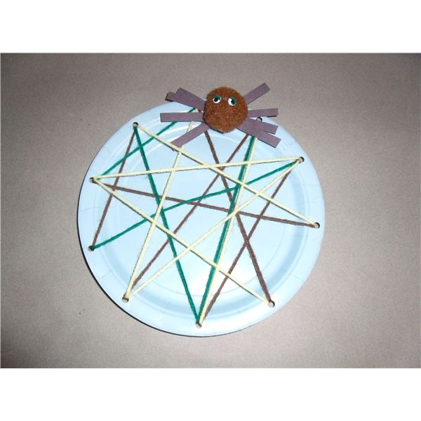 As You Recite The Nursery Rhyme Of Little Miss Et Children May Enjoy Making A Spider And Its Web That Scared Poor Away