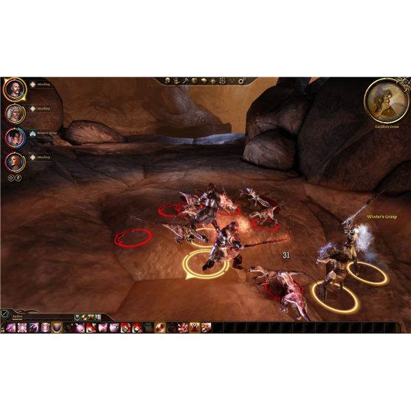 Dragon Age: Origins Guide - Caridin's Cross Deep Stalkers