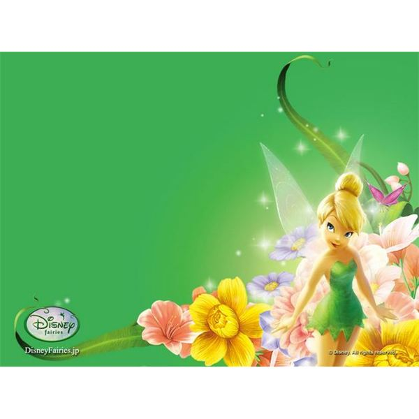 Free Tinkerbell Backgrounds For Scrapbooks Greeting Cards