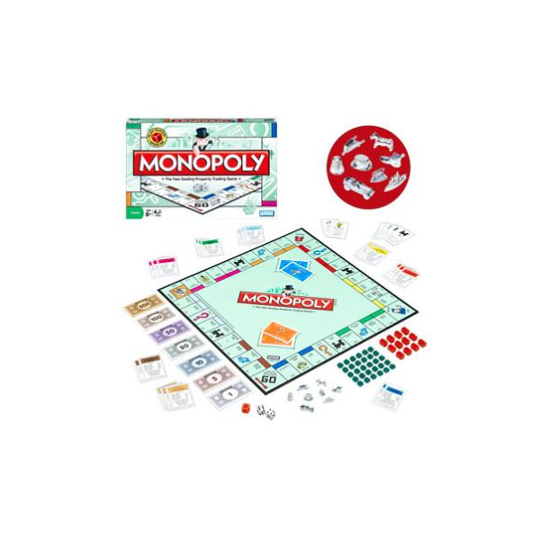 Monopoly Board Game for Family Game Night