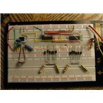 Modified Sine Wave Inverter Breadboard Circuit, Image