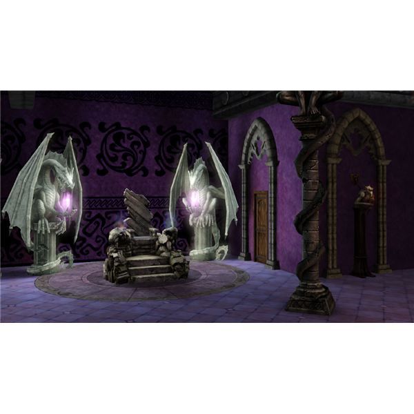 The Sims Medieval Limited Edition Dark Magic Throne