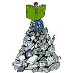 """""""Achieving higher learning through the use of computers"""" by Ragnvald/Wikimedia Commons"""