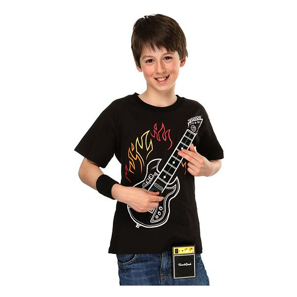 kids electronic guitar T shirt
