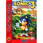Sonic the Hedgehog 3 - Original Genesis Box Art