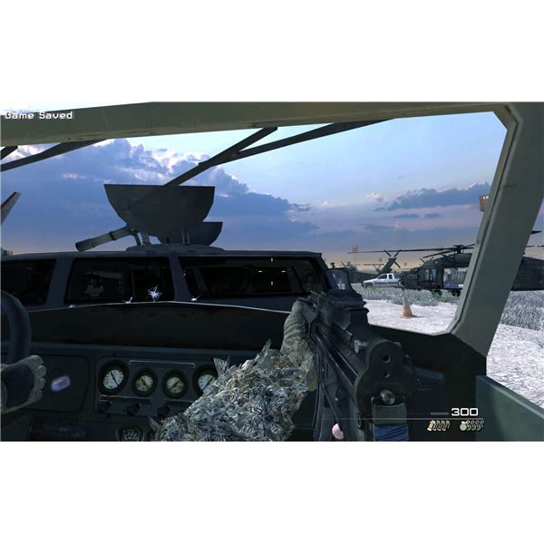 Call of Duty: Modern Warfare 2 - The Enemy of My Enemy - The Jeep Escape and the Plane