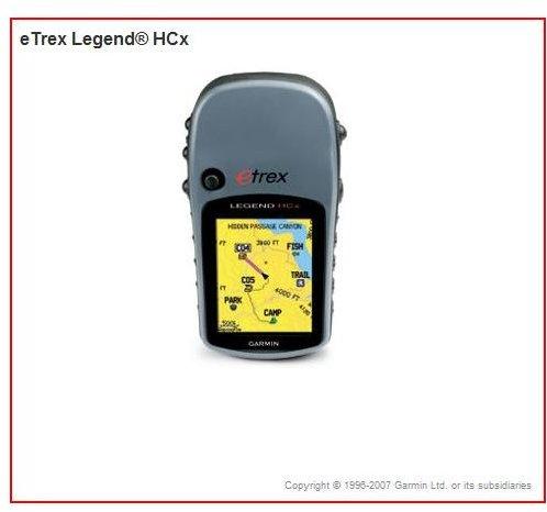 eTrex Legend® HCx