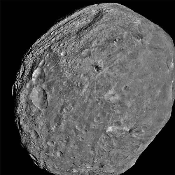 Vesta from Dawn Spacecraft