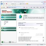 Scan Options of Kaspersky Online Scanner