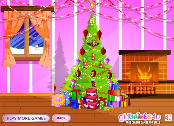 Decorate a christmas tree games online free interactive