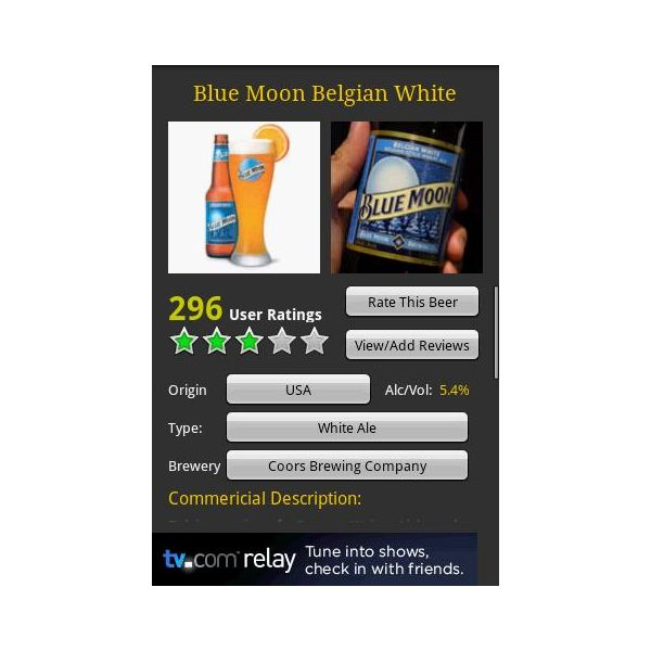 Android beer guide