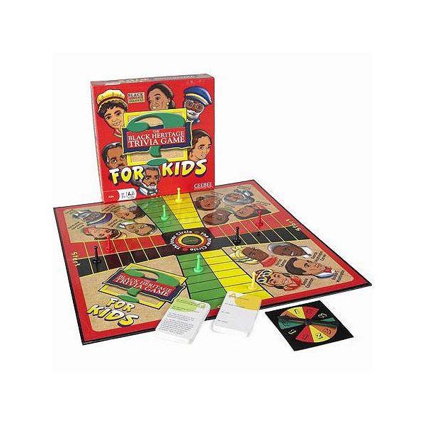 Black Heritage Trivia Game for Kids