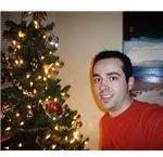 Christmas Tree and Man