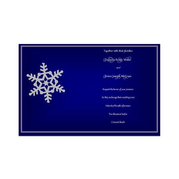 Free Winter Wedding Invitations For Publisher Design Tips And Downloads - Postcard invites templates free