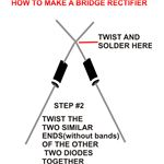 How to Build a Bridge Rectifier, Step Two, Image