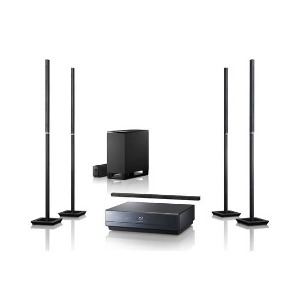 Organize your home theater with your sub-woofer placed away from your Blu-ray player