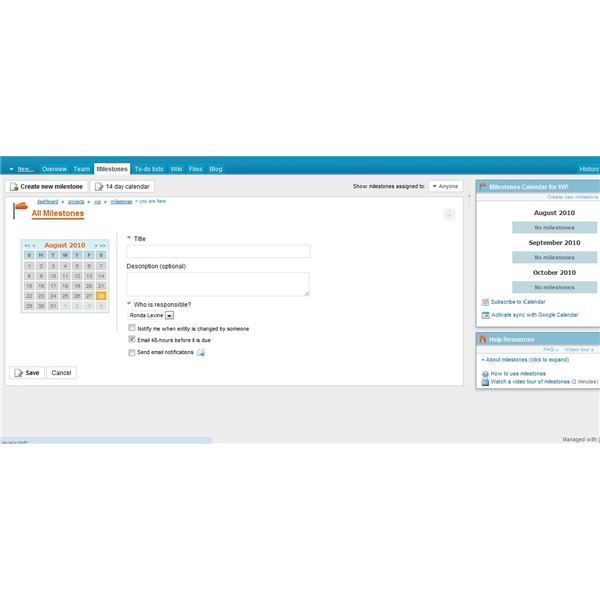 CoMindWork is a great free option for those looking for project scheduling software