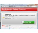 Options in Using BitDefender online virus scan