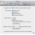 mac security window