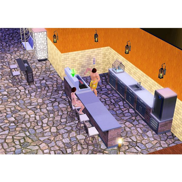 The Sims 3 Outdoor Living cooking