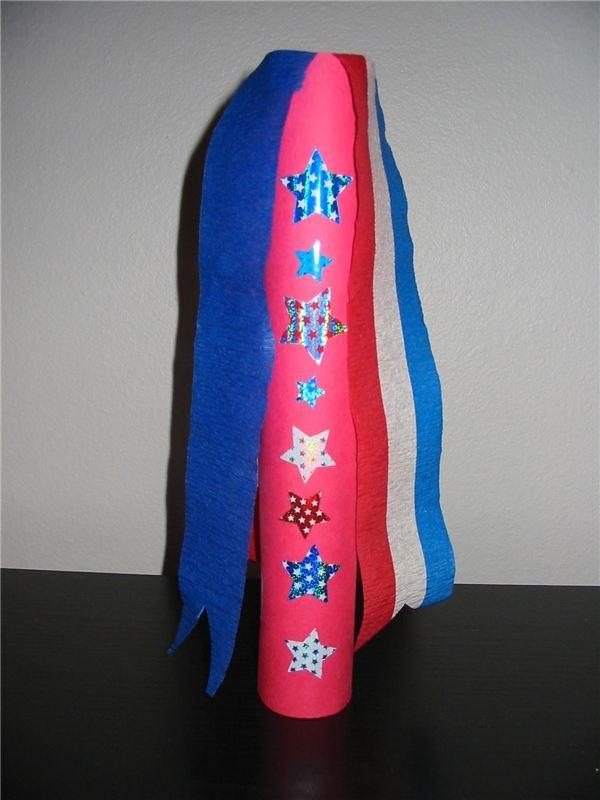 Stars and Stripes Crafts for Preschoolers or Kindergarten