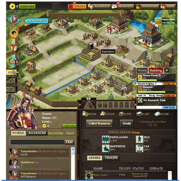 Medieval Browser Games: Samurai Dynasty Guide