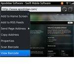 Barcode Assistant BlackBerry App