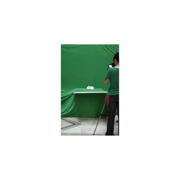Shooting on green screen