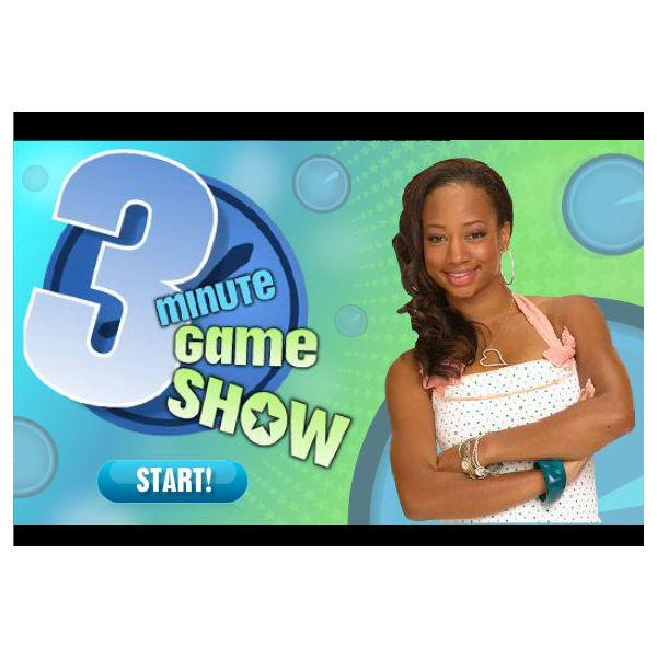 High School Musical Game 3 Minute Game Show