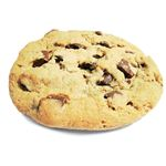 Dark chocolate chips aren't traditional, but are pretty good.